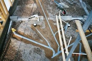 kanalisatsiooni ja vee torustikud